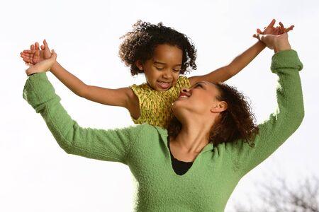 Mother & Child 写真素材