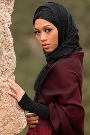 arab hijab: Muslim Girl