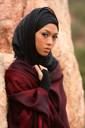 Muslim Girl Stock Photo - 1576744