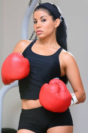 boxing knockout: Boxer Girl