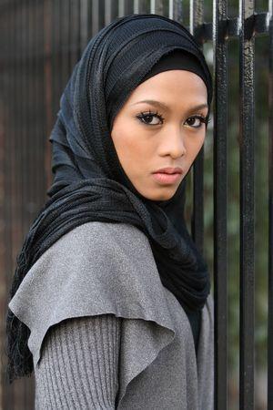 Chica musulmana  Foto de archivo