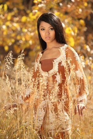 Asian Indonesian girl