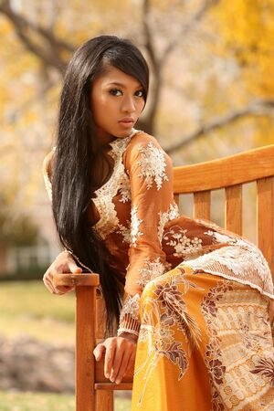 Asian Indonesian girl photo