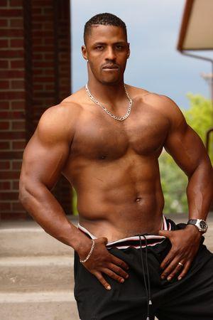 Male bodybuilder photo