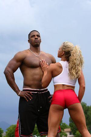bodybuilders Stock Photo