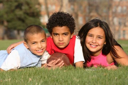 Multiracial Group of Kids Stock Photo - 2995443