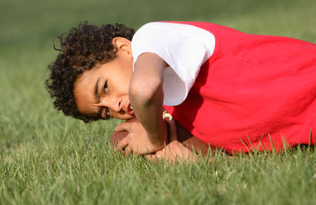 African American Boy Stock Photo - 2998910