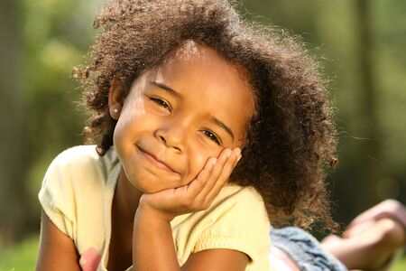 African American Child Stock Photo - 4210201