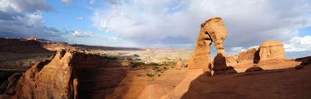 moab: Delicate Arch, Moab Utah Stock Photo