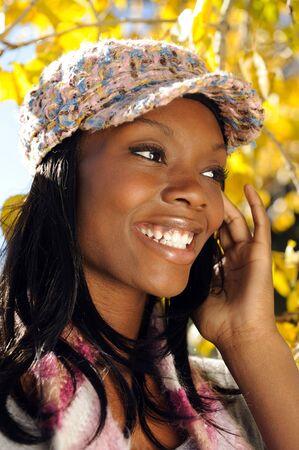 Beautiful African American Girl photo