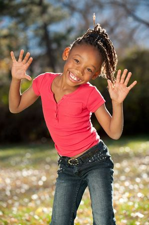 Afro Child Stock Photo - 8225110