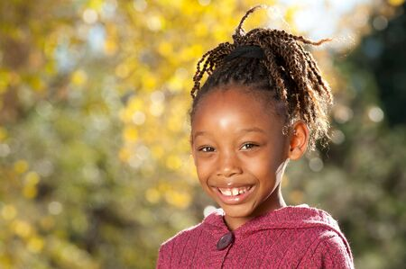 Afro Child Stock Photo - 8225101