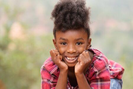 child portrait: Close Up portrait of cute little girl