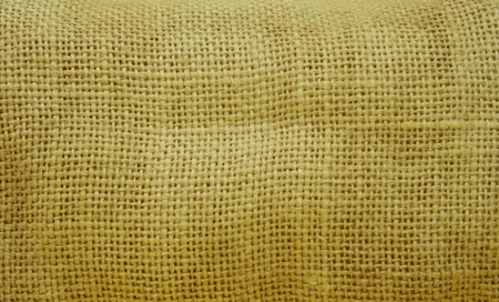 close up brown burlap texture photo