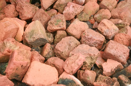 old red brick for background photo