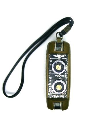 transistor: Transistor de radio viejo de la vendimia