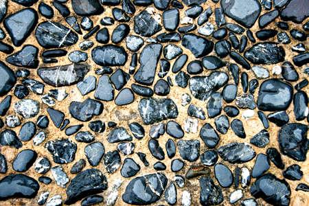 path of gravel stone  photo