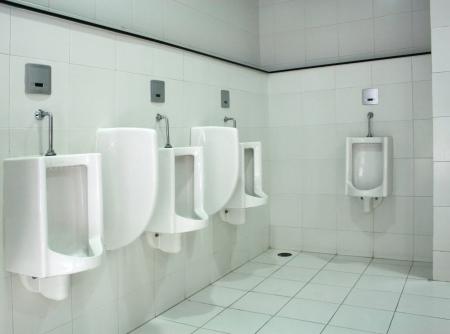 Urinals in public toilet Stock Photo - 23407103