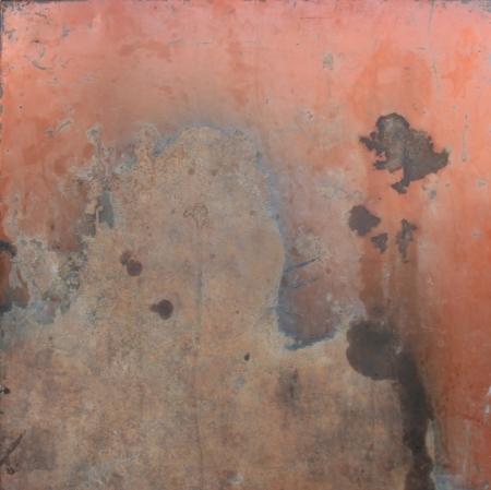 scrap metal: rust steel texture for background Stock Photo