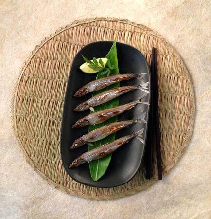 Japanese Grilled Sardines fish photo