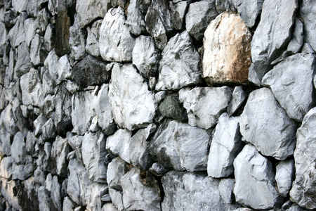 old stone wall for background   photo