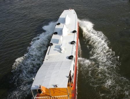 chao: The Chao Phraya Express boat Stock Photo