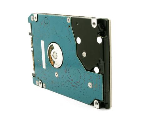 ide: hard drive on white  Stock Photo