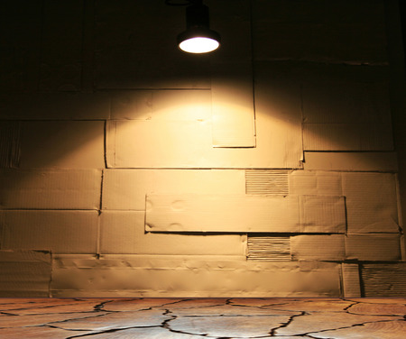 Background of  wall with light texture photo