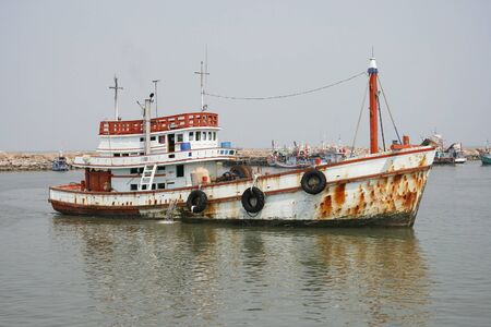 fishing boats Standard-Bild