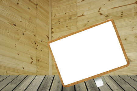 to announce: Brown wood plank wall texture background  ,space;  black; board; blackboard; sign; text; announce; placard; signboard; slate; chalkboard; standing; frame; memo; message; note