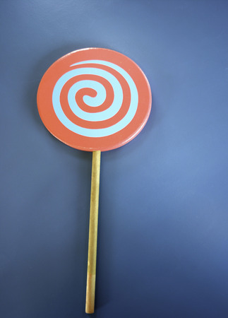Lollipop made from wood