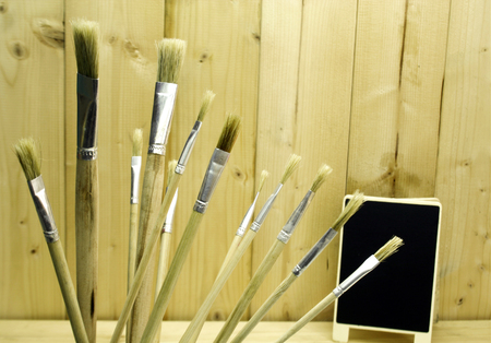 the sizes: Brushes in different sizes