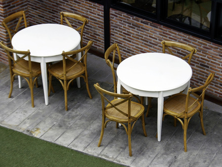 wicker bar: Outdoor table and chairs set