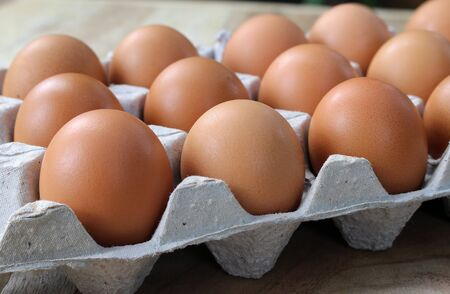 chicken and egg: eggs in the package