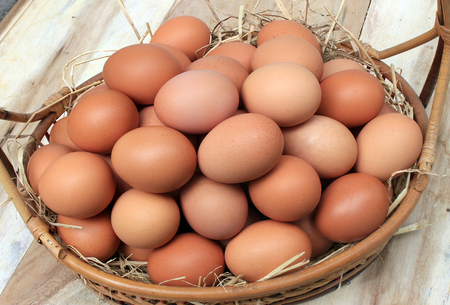 わらの卵の卵バスケット