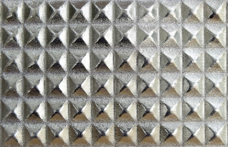 frame  box: silver squares texture