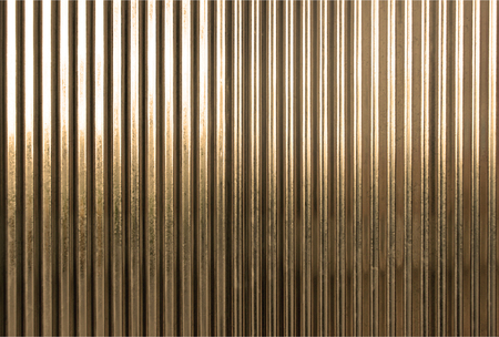 galvanize: Corrugated metal texture surface or galvanize steel background : sepia toning