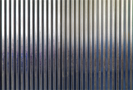 galvanize: Corrugated metal texture surface or galvanize steel background Stock Photo
