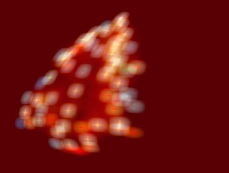 sparklet: Christmas tree-shaped sparklers background