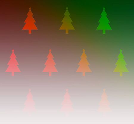 toning: christmas tree wallpaper for background colorful toning