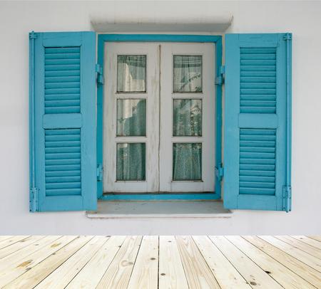 old wood floor: old wood window with wood floor