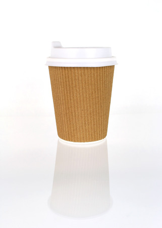 takeout: Take-out coffee in thermo cup