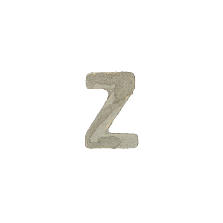 quicklime: The z letter cement texture