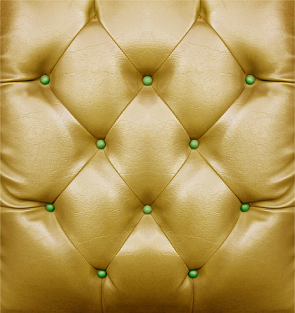 golden sofa pattern surface for background Stock Photo