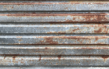 Rusty old zinc texture background