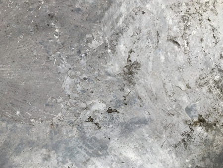 old grungy floor texture, gray concrete wall background Stock Photo