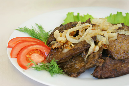 meat dish: meat dish