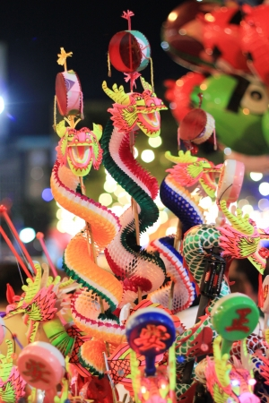dragon toy from Chinese new year at Yaowarat Stock Photo - 13809721