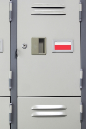 Close-Up Metal Locker