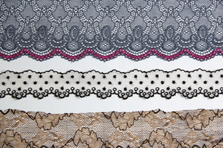 lacework line on white background Stock Photo - 14922756